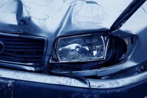 headlamp smashed car accident